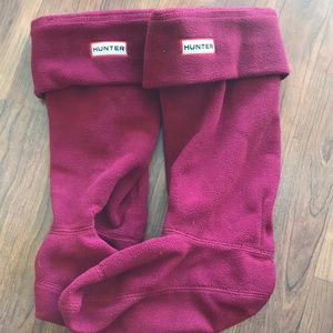 Hunter rain boot socks
